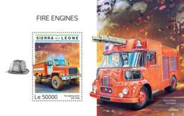 Sierra Leone 2019 Fire Engines    S201903 - Sierra Leone (1961-...)