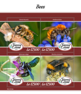 Sierra Leone 2019 Fauna Bees  S201903 - Sierra Leone (1961-...)
