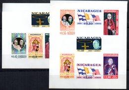 Hb-91/2 Dentada Y Sin Dentar Nicaragua - Nicaragua