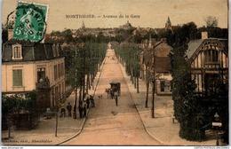 80 MONTDIDIER - Perspective De L'avenue De La Gare - Montdidier