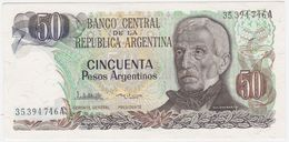 Argentina P 314 - 50 Pesos Argentinos 1983 1985 - AUNC - Argentina