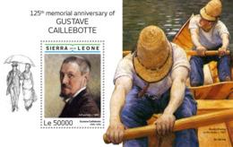 Sierra Leone 2019  Paintings Of Gustave Caillebotte  S201903 - Sierra Leone (1961-...)