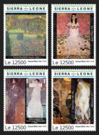 Sierra Leone 2019 Paintings Of Gustav Klimt  S201903 - Sierra Leone (1961-...)