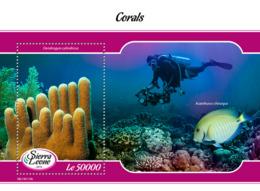 Sierra Leone 2019 Fauna Corals  ,fish  S201903 - Sierra Leone (1961-...)