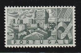 PORTUGAL - N° 681 * (1946)  Châteaux : 2e Vert Foncé - 1910-... Republic