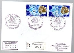 Carta Con Matasellos De Port Aux Français 1978 TAAF - Cartas