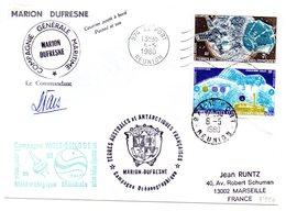 Carta Con Matasellos De 1980  TAAF - Cartas