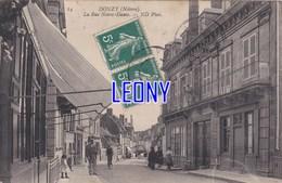 CPA  De DONZY (58) - La RUE NOTRE-DAME N° 14 - ANIMATIONS - Sonstige Gemeinden
