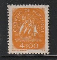 PORTUGAL - N° 713 * (1949) Caravelle - 4e Orange - 1910-... Republic
