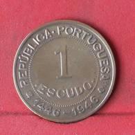 GUINÉ 1 ESCUDO 1946 -    KM# 7 - (Nº29392) - Guinea Bissau