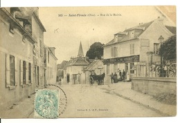 60 - SAINT FIRMIN / RUE DE LA MAIRIE - Autres Communes