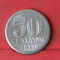 BRAZIL 50 CENTVOS 1957 -    KM# 569 - (Nº29397) - Brazil