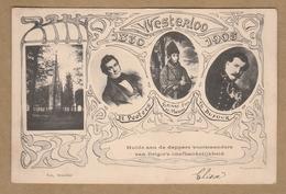 Westerlo Westerloo 1830 - 1905 Hulde Aan De Dappere Voorstanders Van België's Onafhankelijkheid (1905) - Histoire