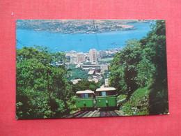 Harbor & Kowloon Peak Tramways Funicular Cars    China (Hong Kong)     Ref 3435 - China (Hong Kong)
