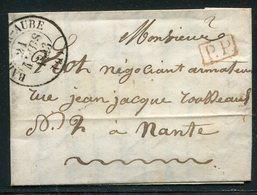 Frankreich / 1823 / Vorphila-Brief Nach Nante (18648) - 1801-1848: Précurseurs XIX