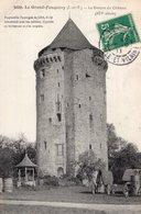 3237 Cpa Le Grand Fougeray - Le Donjon Du Château - Altri Comuni