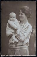 Photo Carte Real Photograph Post Card Femme Enfant Bébé Woman Child Baby - Illustrateurs & Photographes