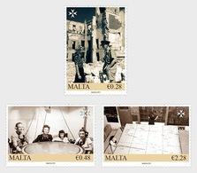 H01 Malta 2019 Malta At War - The Map Plotters 2019 MNH Postfrisch - Malta (Orden Von)
