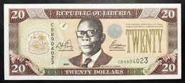 Liberia 20 $ 2003 Fds  LOTTO 2612 - Liberia