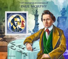 Sierra Leone 2019 Paul Morphy ,chess S201903 - Sierra Leone (1961-...)