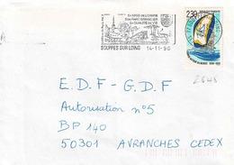 TP N° 2648 Seul Sur Enveloppe De Souppes Sur Loing - Marcophilie (Lettres)