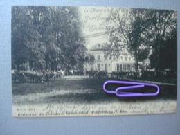 GROENENDAEL : Restaurant Du Château Et Les Calèches En 1905 - Belgique