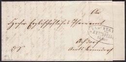 Schweiz Rheinfelden 1867 ü.Bonndorf Bahnpost Basel-Constanz   (22954 - Sonstige - Europa