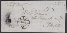 Schweiz 1874 Umschlag ARVIGO Nach St.GALLEN    (23693 - Schweiz