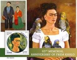 Sierra Leone 2019  Frida Kahlo ,art   Painting  S201903 - Sierra Leone (1961-...)