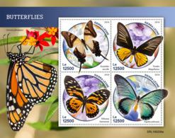 Sierra Leone 2019 Fauna Butterflies S201903 - Sierra Leona (1961-...)