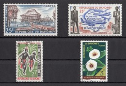 Dahomey (Benin) - 2 Unused Stamps And 2 Used Stamps From The Years 1960-1967 - See Scan - Benin – Dahomey (1960-...)