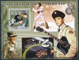 NB - [400713]TB//**/Mnh-Sao Tomé-et-Principe 2009 - Elvis Presley Dans L'armée - Elvis Presley