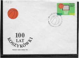 Thème Jeux Olympiques - Sports - Basket-ball - Document - Basketball