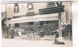 A IDENTIFIER CARTE PHOTO   Cafe Chez Max  Au Rdv Du Batiment  Biere Aiglons OU?  ID38 - Postcards