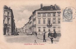 Courtrai / Kortrijk - Rue De France (Frankrijkstraat) - 1900 - Kortrijk