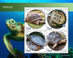 Sierra Leone 2019 Fauna Turtles S201903 - Sierra Leone (1961-...)