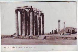 GRECE . TEMPLE DE JUPITER . - Grèce
