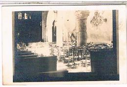 A IDENTIFIER CARTE PHOTO  Interieur D Eglise OU?  ID47 - Postcards
