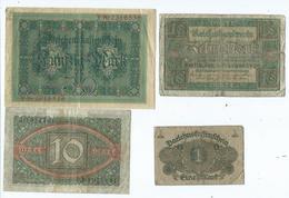Billet Allemand - [ 3] 1918-1933 : République De Weimar