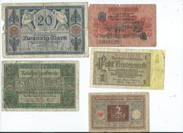 Billet Allemand 10 Reichsbanknote 1920  Sans épinglage - [ 3] 1918-1933 : République De Weimar