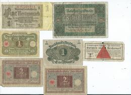 Billet Allemagne - [ 3] 1918-1933 : République De Weimar