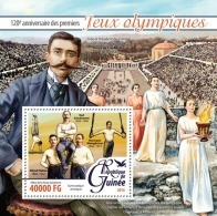 GUINEA 2016 - 1st Olympic Games - Mi B2639; CV=16 € - Summer 1896: Athens