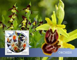 Sierra Leone 2019 Orchids S201903 - Sierra Leone (1961-...)
