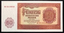 Germania Germany 1955 50 Mark Fds Unc  LOTTO 703 - [ 6] 1949-1990 : RDA - Rep. Dem. Tedesca