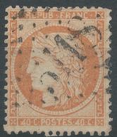 Lot N°50001  Variété/n°38, Oblit étranger GC 5118 Yokohama, (Japon), 4 Retouchés - 1870 Siège De Paris