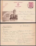 Publibel  - 65c Voyagé - Thématique Blankenberge (DD) DC3657 - Enteros Postales