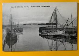 8749 - Le Croisic Sortie Du Port Vers Pen-Bron - Le Croisic