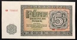 Germania Germany 1955 5 Mark Sup  LOTTO 2616 - [ 6] 1949-1990 : RDA - Rep. Dem. Tedesca