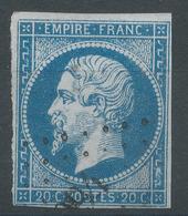 Lot N°50003  Variété/n°14A, Oblit PC, Tache Blanche Gréque SUD EST - 1853-1860 Napoleon III