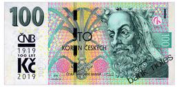 CZECH REPUBLIC COMMEMORATIVE 100 KORUN 2019 Pick New Unc - Tchéquie